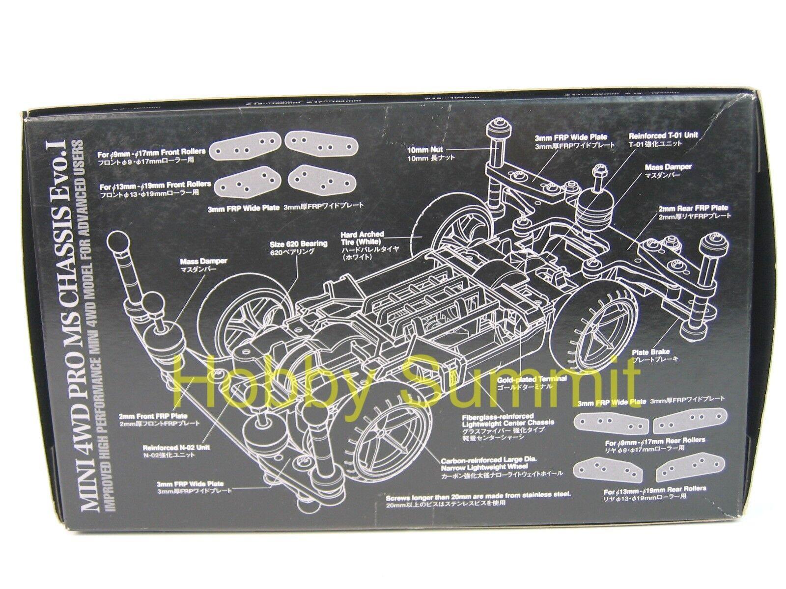 Tamiya 1 32 MINI 4WD PRO PRO PRO MS Chassis EVO.I  High Perforuomoce  Ltd edizione 95263 b58e22