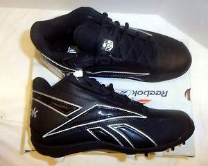 d1725f944 Reebok NFL Thorpe Mid MR7 Men s Football Cleats NIB Black Black ...