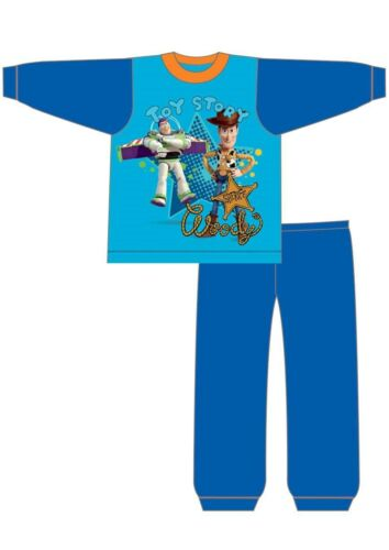 Ragazzi NUOVO Toy Story Woody Buzz Ufficiale Pigiama Set di 12-18-24 mesi 2 3 4 anni