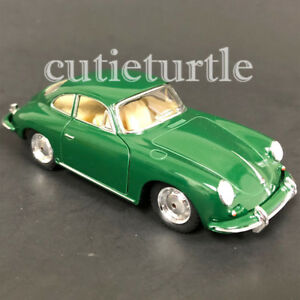 Kinsmart-Porsche-356-B-Carrera-2-1-32-Model-Toy-Car-KT5398-Green