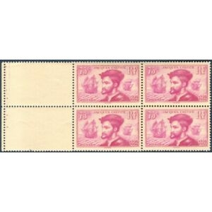 N-296-JACQUES-CARTIER-TIMBRES-NEUFS-1934