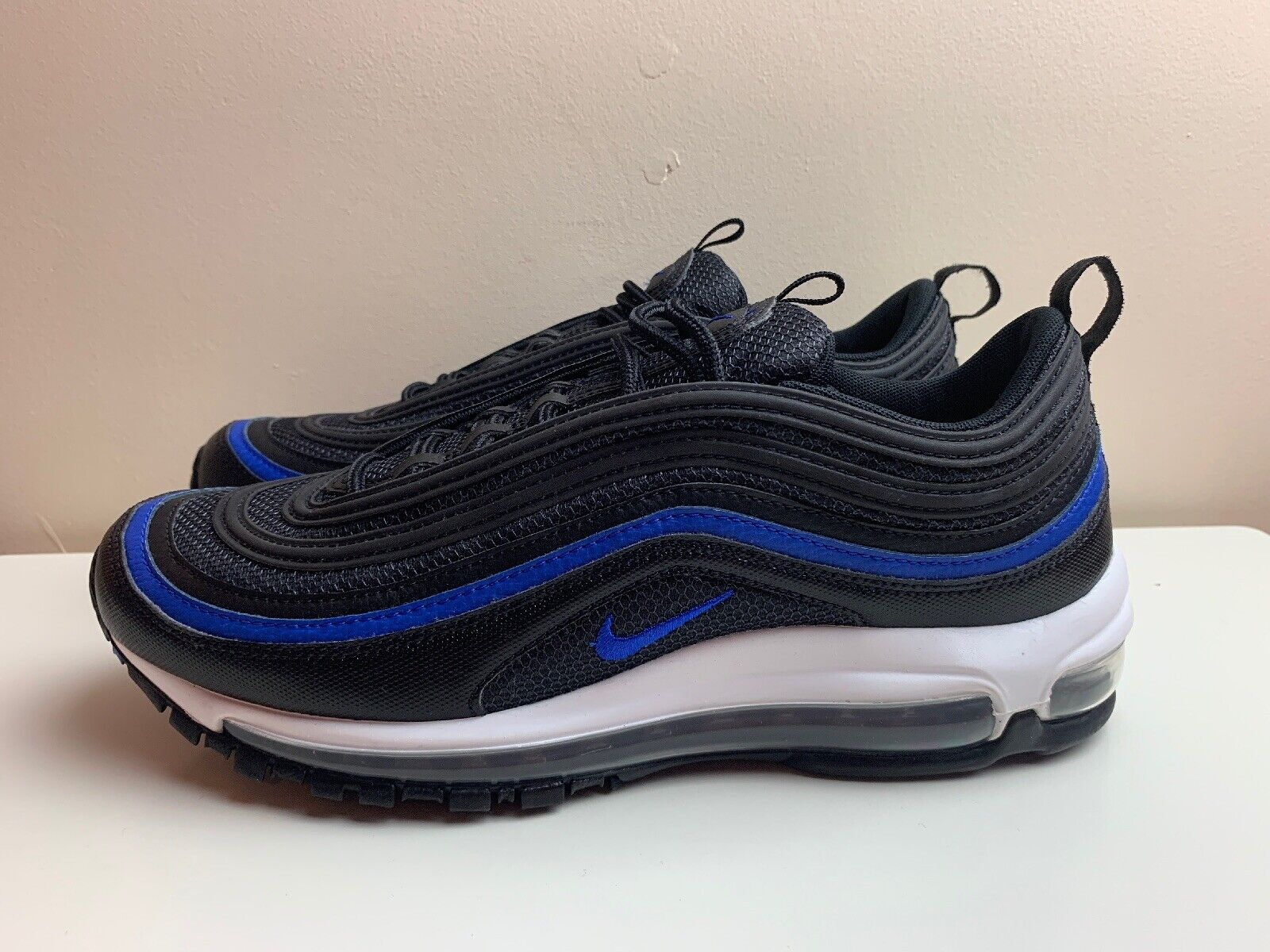 Nike Air Max 97 OG shoes Black bluee AR5531 001