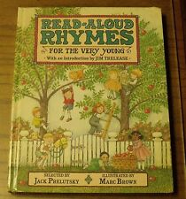Read-Aloud Rhymes for the Very Young (1986, Hardcover)