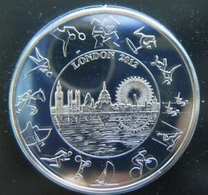 2012-London-5-Pound-Coin-Olympics-Coin-Brand-New-in-all-Packaging