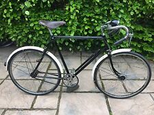 Vintage 1948 Raleigh Sports Model Gents Bicycle Stunning Original Cond Ride Away