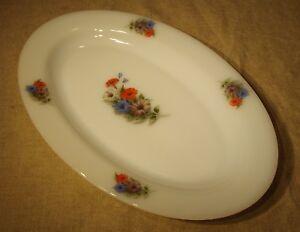 Plat-ovale-Arcopal-vintage-60-039-s-70-039-s-decor-fleurs-n-2
