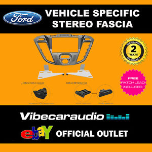 b88465d810 Ford Transit Connect 2012 on Double Din Stereo Facia Phoenix Silver ...