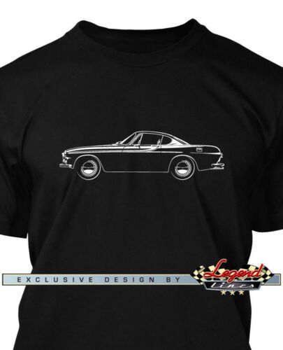 Multiple Colors /& Sizes  Swedish Classic Car Volvo P1800 Coupe T-Shirt for Men