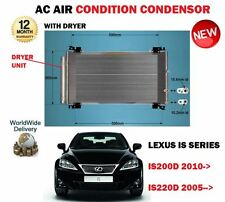 FOR LEXUS IS200D IS220D 8846053040 2005->NEW AC AIR CONDITION CONDENSOR RADIATOR