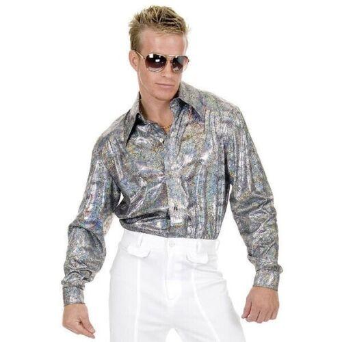 Adult Silver Disco Shirt