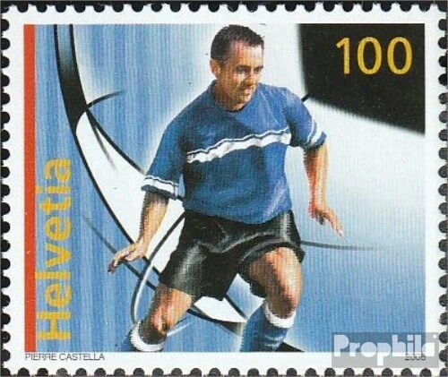 Switzerland 2045 complete issue unmounted mint never hinged 2008 Football Ch