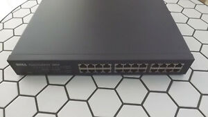 7H969 Dell PowerConnect 2024 24-Port 10/100 Fast Ethernet Network Switch