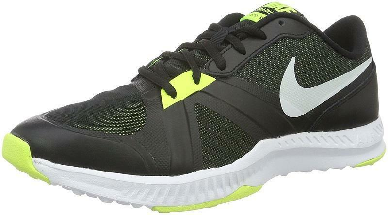 Nike Men's Air Epic Speed TR Cross Training shoes 819003-007 Black White Volt
