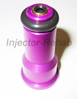 Fuel Injector 2200cc 210lb Adapter Hats w// Filters Short NGI-2 /> 14mm EV1 60mm