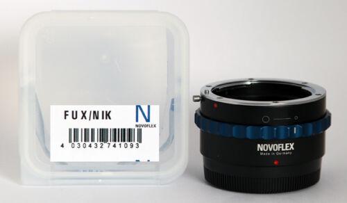 NOVOFLEX ADAPTER FUX//NIK   Nikon an Fuji X  Kameras   FUX NIK ****