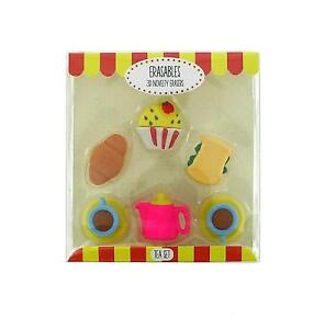 Novelty Erasers Juice Milk Scented Rubbers New box Collectable School kids Gift