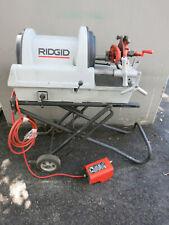 Ridgid 1822 I Auto Chuck Pipe Threader Threading Machine
