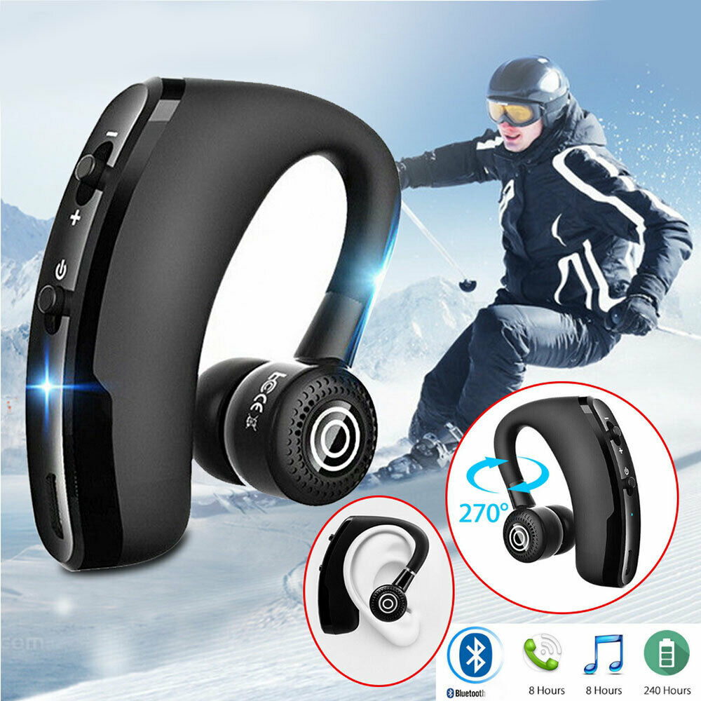 7fcec3976f7 SINGLE Ear Bluetooth 4.1 V9 Auriculares inalámbricos Cascos Estéreo ...