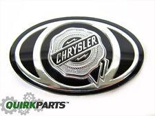 2005-2010 Chrysler 300 S Grille Emblem Decal Badge Silver & Black MOPAR OEM NEW