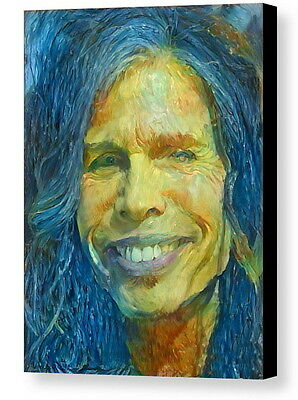 Framed Steven Tyler Abstract 9X11 Art Print Limited Edition w//signed COA