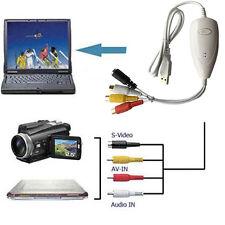 Ezcap 172 Upgraded 1568 USB video Capture Converter,VHS,V8,Hi8,Camcorder to PC