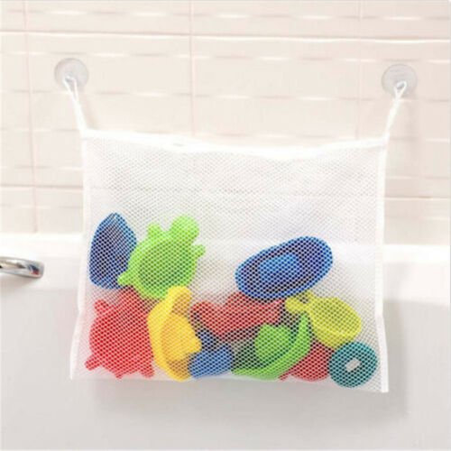 Bath Tub Organizer Bags Holder Storage Basket Kid Baby Shower Toy Net BathtubM-t