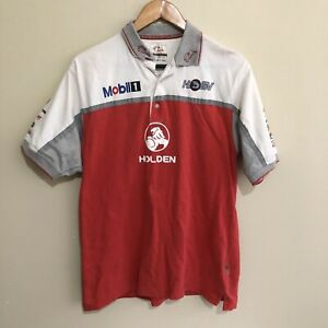 Holden-Racing-Team-HRT-HSV-V8-Supercars-Polo-Shirt-Mens-Small