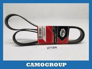 Belt Poly-V Alternator V-Ribbed Belt Gates AUDI A8 Q7 Volkswagen Touareg 2