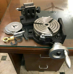 HV6//150MM ROTARY TABLE WITH DOUBLE BOLT TAILSTOCK /& INDEXING PLATES SET