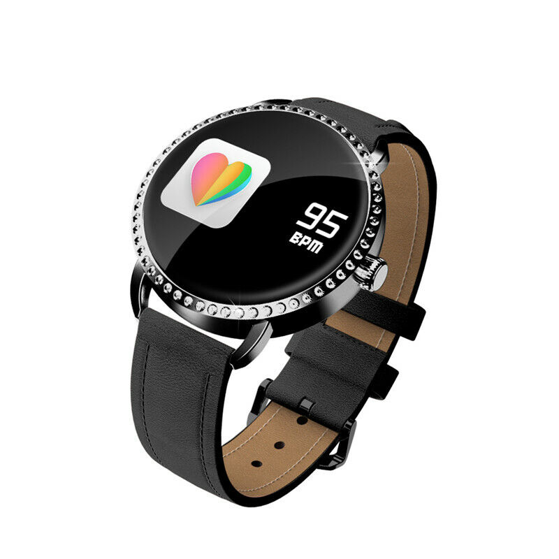 Image 141 - Women Lady Sports Smart Watch Heart Rate Blood Pressure Monitor For iOS Android