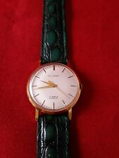 VINTAGE SILVANA 1390 WRIST WATCH 17 JEWELS INCABLOC SWISS MADE MOVEMENT RUNNING