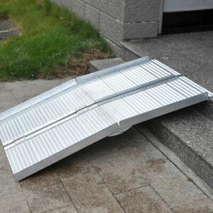 Rampa pieghevole in alluminio per sedie a rotelle 213 ...