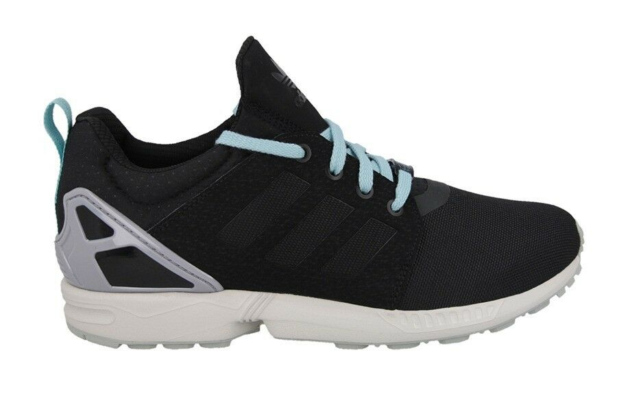 Adidas Originals Ξ'Ξ½Ξ΄ΟΞΉΞΊΟŒ ZX Flux NPS UPDT Trainers Μαύρο Γκρι UK 6.5 US7 RRP Β£ 89.95