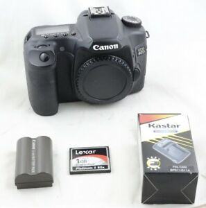 Shutter-only-24K-Canon-EOS-40D-10-1MP-Digital-SLR-Camera-body-with-extra