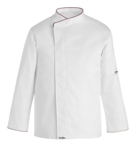 Kochjacke Weiß Schwarz Komfort 5XL 6XL 7XL Egochef Küchenchef Made in Italy