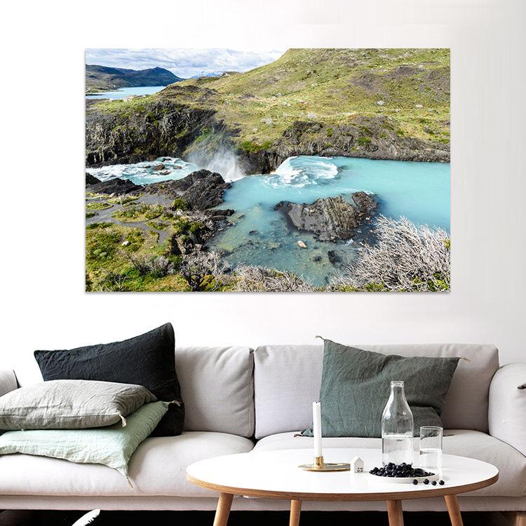 3D Berge fließendes Wasser 23 Fototapeten Wandbild BildTapete Familie AJSTORE DE