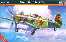 YAKOVLEV YAK 1 EARLY (SOVIET AF  SUMMER & WINTER MARKINGS) 1/72 MISTERCRAFT