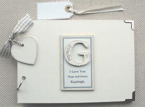 Personalised Grandad//Great Grandad  Photo Album Scrapbook//Memory Gift With Box