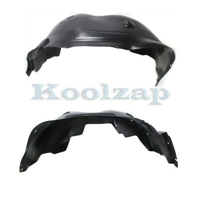 07-13 Escalade Front Splash Shield Inner Fender Liner Panel Left Right SET PAIR