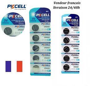 Piles-batteries-bouton-PKCELL-3V-LITHIUM-CR2032-CR2025-CR2016-AG13-LR44