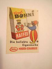 Edeka - Minden Osnabrück - Graf Bohni Kaffee / Streichholzetikett