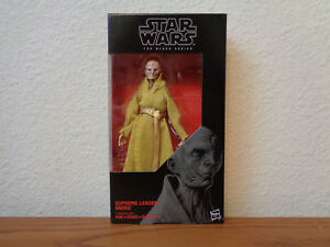 Star-Wars-Black-Series-Snoke-6-inch-54-Action-Figure-Supreme-Leader-First-Order