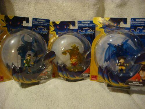 Jiro /& MINOTAURO Blue DRAGON Set di 3 marumaro /& SABER Tiger SHU /& Blue Dragon