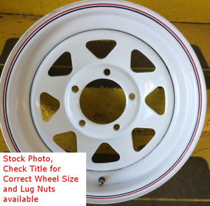 15-Inch-New-Trailer-Wheel-15x6-6on5-5-6x5-5-6-Bolt-6-Lug-White-Spoke-Rim-SIL