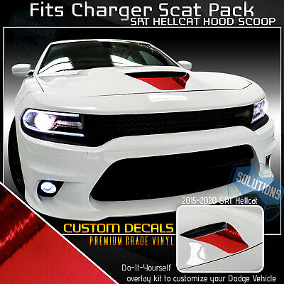 Push to Start Button Ruby Red Badge Cover ToolEpic for Dodge Challenger Charger 392 Hemi Scat Pack Decal Accessories 2015-2020 Engine Start Stop Button Overlay Sticker Emblem Perfect for Decals