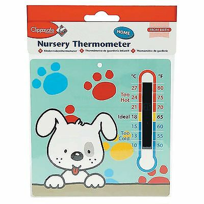 Other Nursery Bedding Nursery Bedding Radient Clippasafe Nursery/bedroom/room Thermometer Baby/toddler/child Uk Seller Complete In Specifications