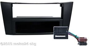 MERCEDES-Radio-Blende-DIN-fuer-E-Klasse-W211-Radio-Blende-Rahmen-Adapter-ISO