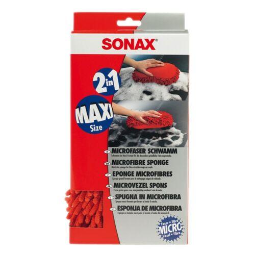 6x Sonax microfibra Esponja microfibra microfaserschwamm 2 en 1 maxi lavar