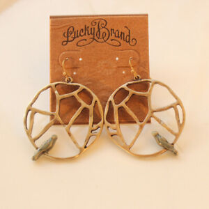 New-Lucky-Brand-Bird-Drop-Earrings-Best-Gift-Vintage-Women-Party-Holiday-Jewelry