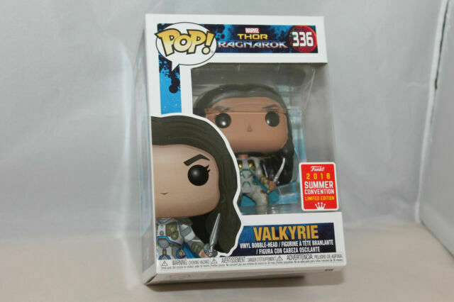 Funko Pop Marvel Sdcc 2018 Thor Ragnarok Valkyrie Vinyl Figure 336 For Sale Online Ebay